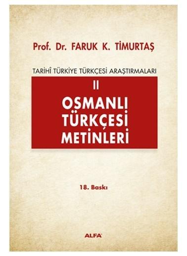 Alfa Osmanlı Türkçesi Metinleri 2 Renkli